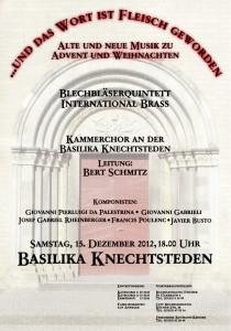 Kammerchor 15. Dezember 2012