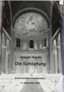 Kammerchor 15. Dezember 2007