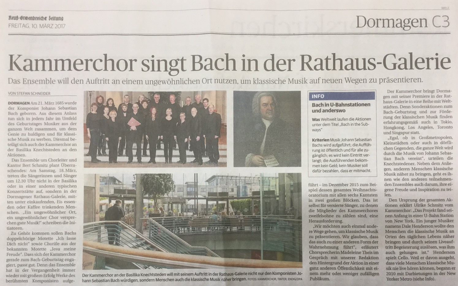 Bach in the subways 2017